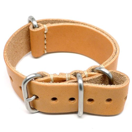 DaLuca NATO Watch Strap - Natural Essex (Matte Buckle) : 18mm