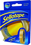 Sellotape Original Golden Réf 1443266 Ruban adhésif Facile à couper Antistatique 24 mm x 50 m Lot de 6 (Import Royaume Uni)