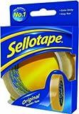 Sellotape 470456 - Cinta adhesiva (24 mm x 50 m), amarillo