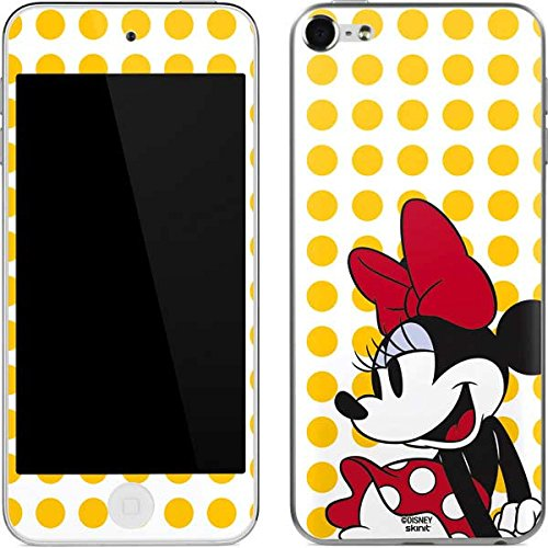 Minnie Mouse iPod Touch (6th Gen, 2015) Skin - Minnie Mouse Yellow Dots Vinyl Decal Skin For Your iPod Touch (6th Gen, - For Mouse Case Minnie 5 Ipod