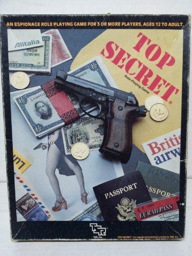 Top Secret Espionage: Role-Playing Game [BOX SET]