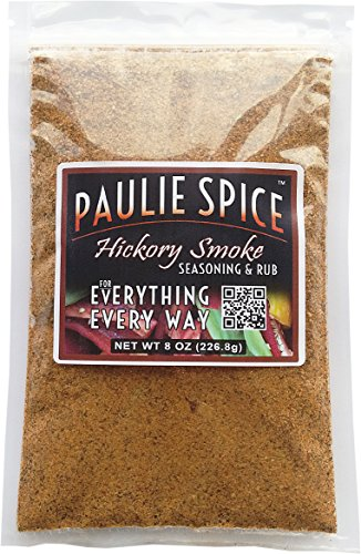 Paulie Spice : Sweet Hickory Smoke BBQ Seasoning and Rub For: Steak, Ribs, Rib, Meat, Pork, Chicken, Wings, Beef, Brisket, Salmon, Prime Rib, Fish, Grill, Grilling, Smoked, Barbecue, Dry, Rubs, ()