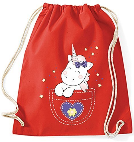 Bag Gymsack Purple Cloth Bags Gym Red Unicorn With Bag Cutie Sports Kangarooh Purple String Bag Pocket Unicorn Cotton Bag Jute Horn Bag pPwdH4d