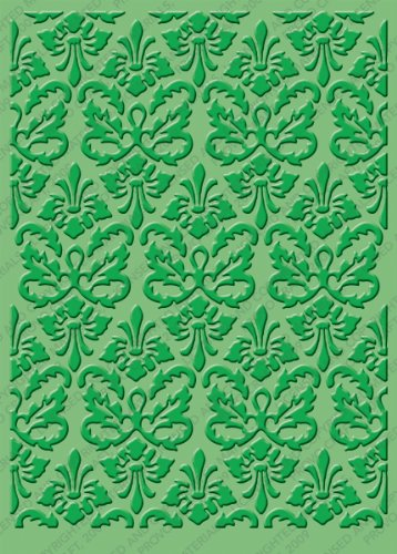 (Cuttlebug 5-Inch-by-7-Inch Embossing Folder, Kassie's Brocade)