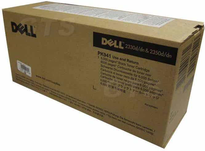 Dell 330-2649 2330/2350 6000 Pages High Yield Toner Cartridge (Black) in Retail Packaging