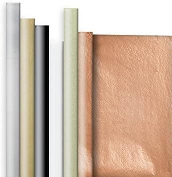 مجموعة أغلفة هدايا ملونة سادة لجميع المناسبات من شركة جيلسون روبرتس، متوفرة في 10 تشكيلات مختلفة، أساسيات أنيقة
