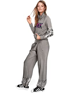 195e818ce5e17 Victoria's Secret Pink Perfect Zip Hoodie & Classic Pant Sweat Set ...