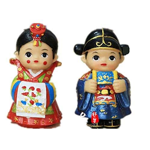 Amazon.com: Korean Traditional Bride And Groom Wedding