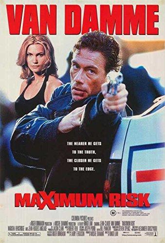 Maximum Risk Poster Australian 27x40 Jean-Claude Van Damme Natasha Henstridge