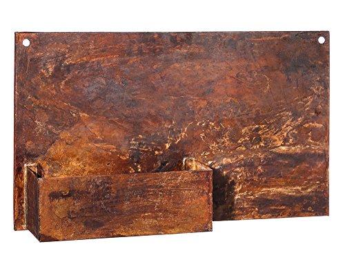 Evergreen Dunes Rectangular Metal Planter product image
