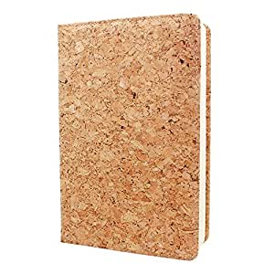 Boshiho Eco-friendly Cork Cover Journal (Notebook, Diary) Vegan Gift (Color 3)