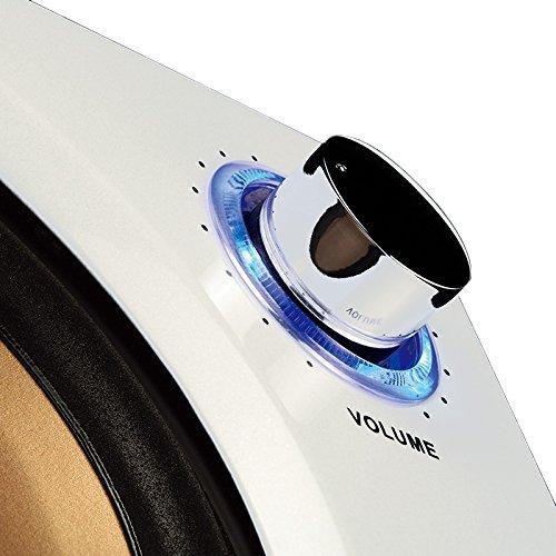 Swan Speakers - M10 - Powered 2.1 Computer Speakers - Surround Sound - Near-Field Speakers - Bookshelf Speakers - Pearl White by Swan Speakers (Image #2)