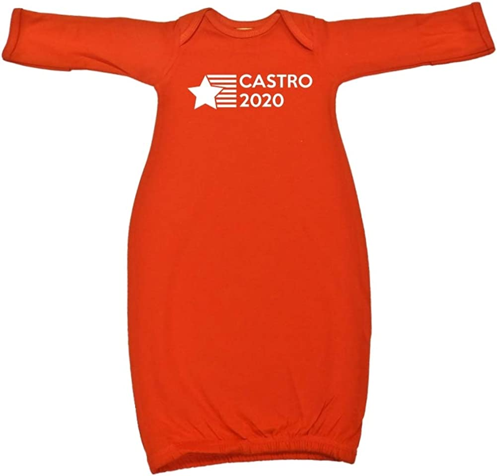 Presidential Election 2020 Baby Cotton Sleeper Gown Mashed Clothing Castro 2020 Star//Stripes
