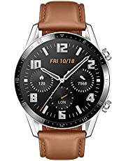 HUAWEI Watch GT 2, 2 Week Battery Life, 15 Workout Modes & Full-time Fitness Trainer, 46mm - Brown