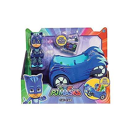 PJ Máscaras Paquete de Vehículos - Owl Glider, Gekko Mobile & Cat Car - 3 ARTÍCULOS: Amazon.es: Juguetes y juegos
