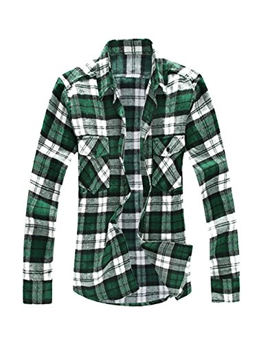 Allegra Plaids Flannel Shirt Pockets