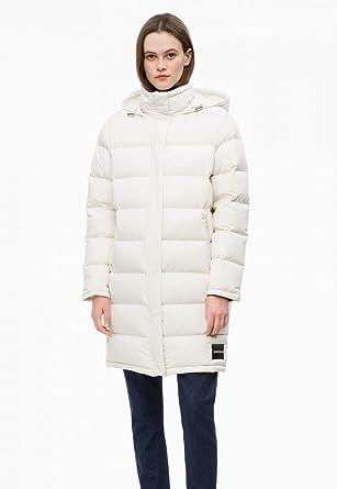 Calvin Klein Jeans Lightweight Down Long Puffa Jacket MEDIUM