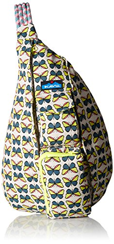 Kavu Rope Bag, Butterfly, One - Sling Butterflies Bag