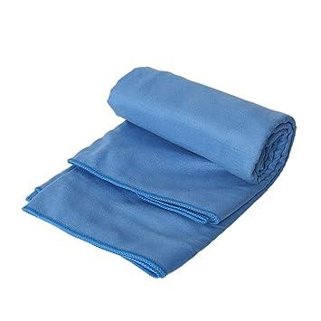 Vosarea Toalla de viaje y toalla deportiva de microfibra 2pcs - Ideal Toalla de secado rápido