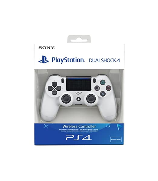 421 opinioni per PlayStation 4- Dualshock 4 Controller Wireless V2, Bianco (Glacier White)