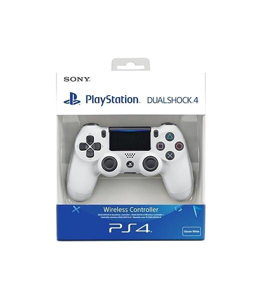421 opinioni per PlayStation 4- Dualshock 4 Controller Wireless V2, Bianco (Glacier White)