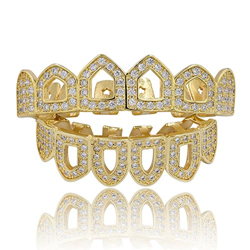 open face gold grill - 5