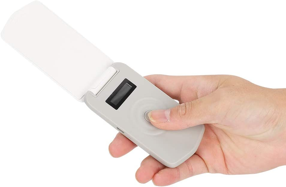 Escáner de microchip para mascotas, lector portátil portátil de chips de animales Microchip para mascotas, escáner de microchip de identificación para animales, mascotas, ovejas, cerdos y vacas