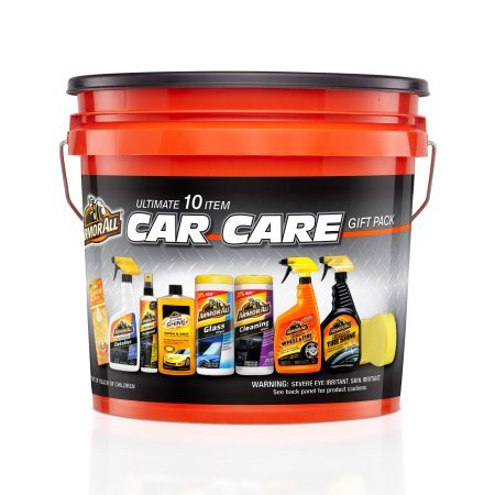 Kit Car Wash (Armor All Complete Ultimate Car Care Gift Pack, Holiday Gift Pack, 10 Items)