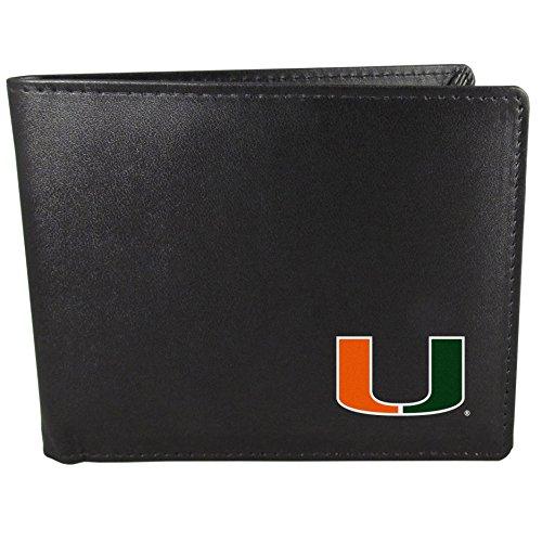 - Siskiyou NCAA Miami Hurricanes Bi-fold Wallet, Black