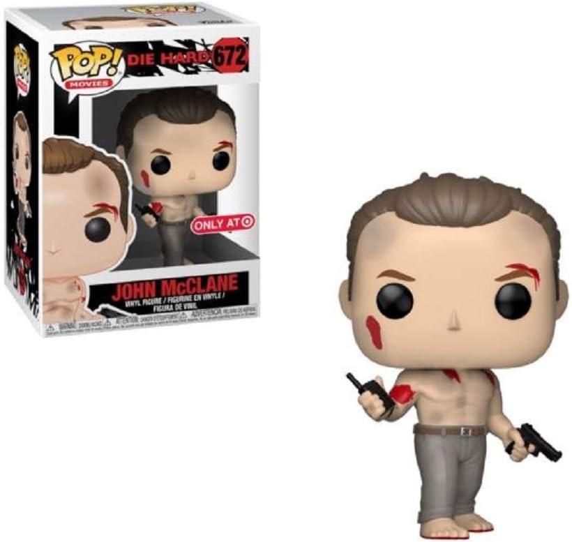 Vinyl Figure FUNKO POP New Toy John McClane MOVIES: Die Hard