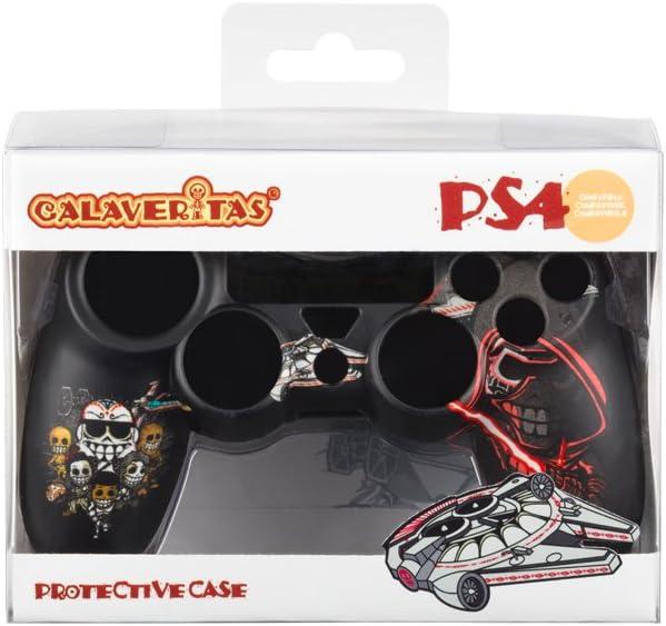 Indeca- Carcasa rigida para mando dualshock de Playstation 4 (PS4) de Calaveritas (modelo Star Wars): Amazon.es: Videojuegos