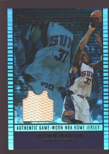 SHAWN MARION 2002-03 TOPPS JERSEY EDITION GAME WORN USED PATCH SP SUNS $15 ()