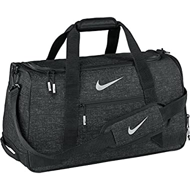 Nike Sport Duffel III Gym Bag, Black/Silver