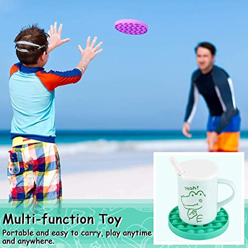 MUYSRC Fidget Toy,Popping Fidget Toy,Push It Bubble, Popping Game,Chuckle and Roar Stress Reliever,Bubble Popping