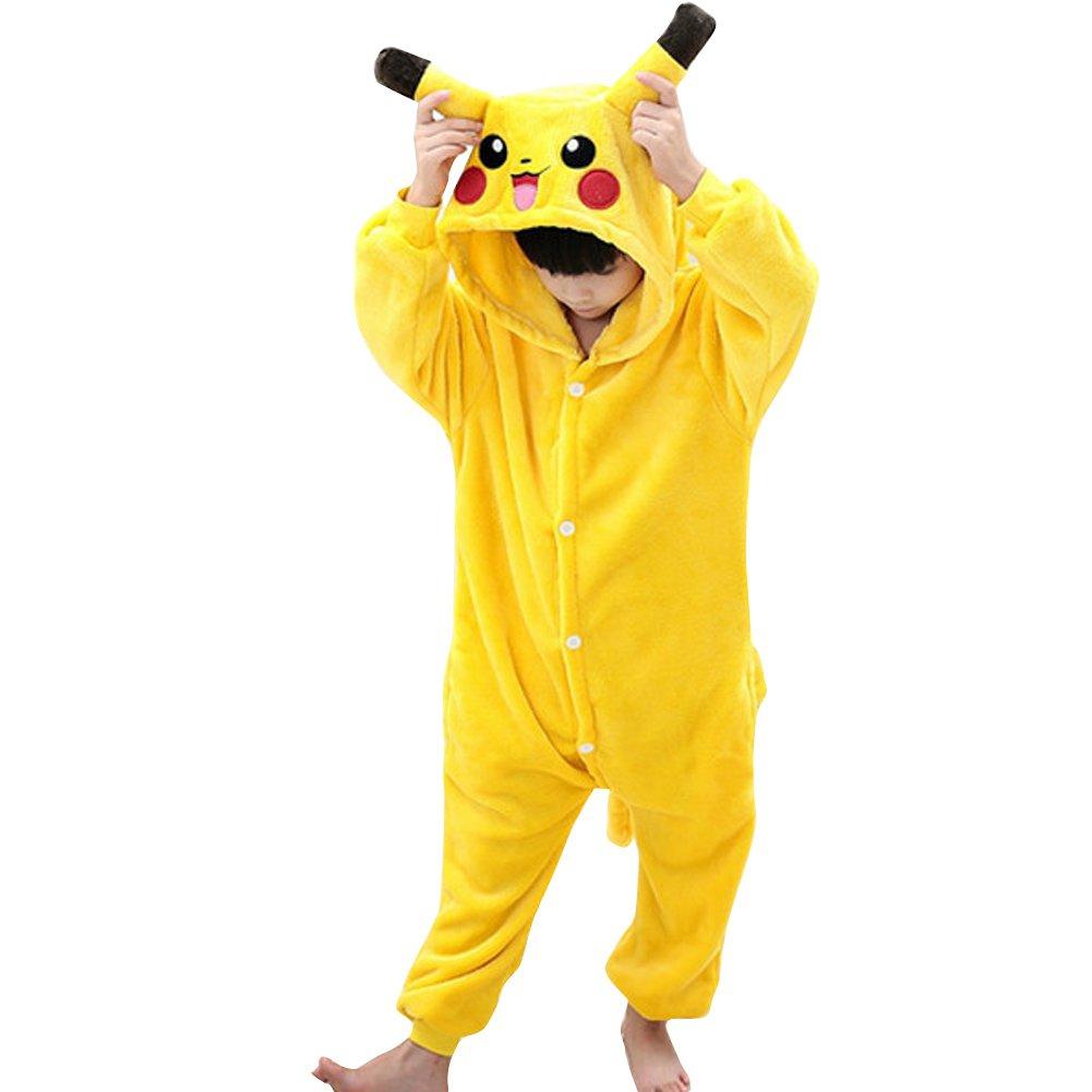 Pikachu Kigurumi - Traje de dormir para niños, diseño de ...