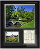 """Augusta National Golf Course 11"""" x 14"""" Framed Photo Collage by Legends Never Die, Inc."""