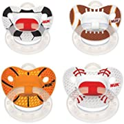 Sports Silicone Orthodontic Pacifiers, 2ct (Design May Vary) 6-18 months
