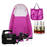 MaxiMist XL SE Classic Mobile Spray Tanning System with Popup Tent and Carry Bag (Pink)