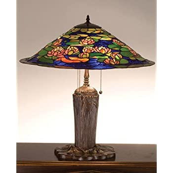 Tiffany Pond Lily Table Lamp Tiffany Lamp Water Lily
