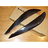 BMW 7シリーズ F01/F02 前期 アイライン Type1 ブラックカーボン 綾織り F01(B)_EYE1