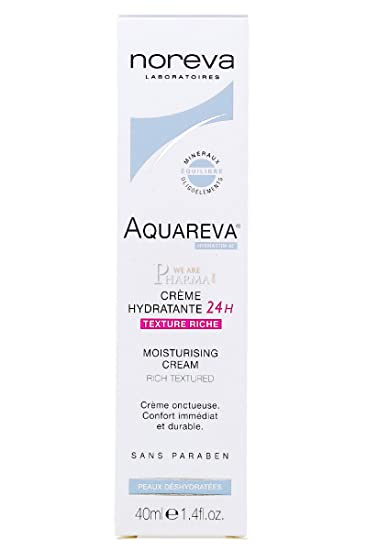 Amazon.com : NOREVA LED AQUAREVA Créme Hydratante 24h ...