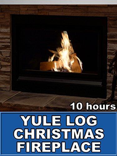 Christmas Log - Yule Log Christmas Fireplace 10 Hours