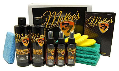 McKee's 37 MK37-7000 Paint, Wheel & Glass Coating Complete Kit (13-Piece)