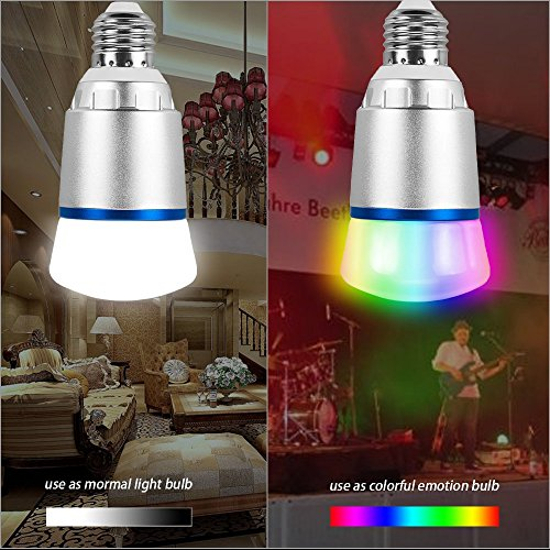 ShellBox Smart Led Bulb, Work with Amazon Alexa and Google Assistant, Phone Control, Color Tunable 10W A19 Wi-Fi Smart Bulb, 60W Equivalent by ShellBox (Image #3)