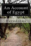 An Account of Egypt, Herodotus, 149753612X