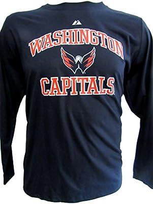 watch 5ab77 3fcfc Amazon.com : A-Team Apparel Washington Capitals Womens Plus ...