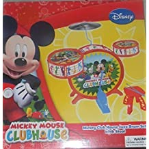 DISNEY JUNIOR MICKEY MOUSE CLUBHOUSE CHILDRENS UNISEZ JAZZ DRUM SET _ SO CUTE [Holiday Gifts]