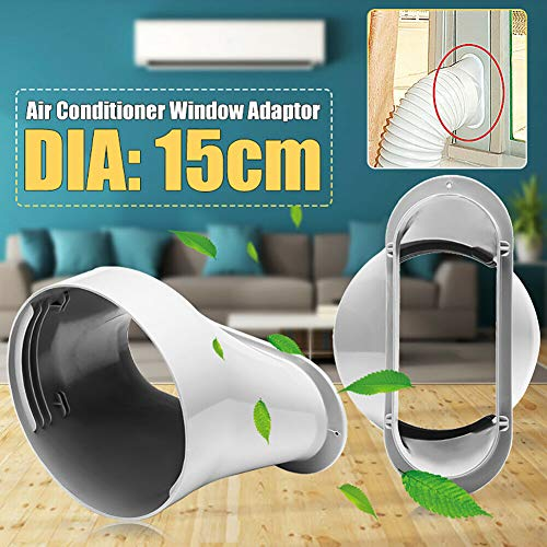 1 pcs 6inch Window Adapter Works for Portable Air-Conditioning