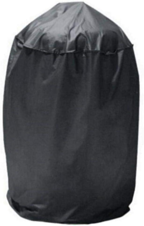 xmwm Barbacoa a Prueba de Agua Negra Parrilla de Barbacoa Cubierta de Domo Lluvia al Aire Libre Barbacoa Anti DChinat para Gas carbón Carbón eléctrico Herramientas de Barbacoa Accesorios, 58x77cm