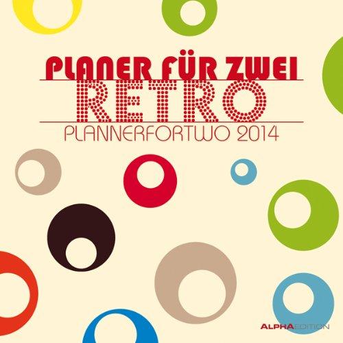 Planer für 2 Retro Broschürenkalender 2014